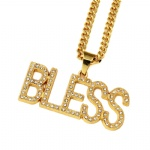 BLESS 18K GOLD PLATED CHAIN